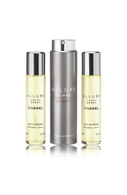 ALLURE SPORT EXTREM EDT SET 3 X 20 ML.