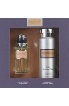 SET MASSIMO DUTTI ABSOLUTE EDT 100 ML.+DEO 200 ML..