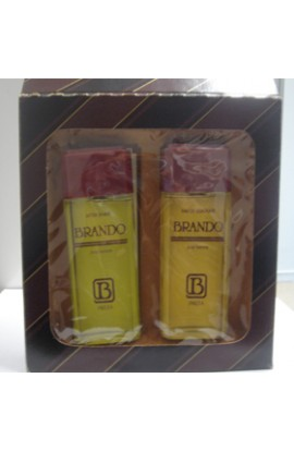 SET BRANDO POUR HOMME EDT 100 ml.+ AFTHER SHAVE 100 ML.