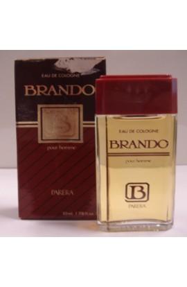 BRANDO POUR HOMME EDC 55 ml.BOTELLA  ANTIGUA CAJA DETERIORADA
