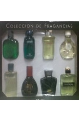 COLECCION  DE FRAGANCIAS DE PUIG EDT 30 ML.X 8 UNIDADES