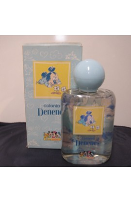 DENENES EDC 200 ML. COLOR AZUL FRASCO ANTIGUO CAJA DETERIORADA