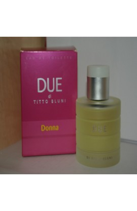 DUE-TITTO BLUNI EDT 100 ML.SIN CAJA BOTELLA DETE.