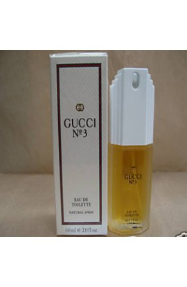 GUCCI Nº 3 EDT 60 ml.