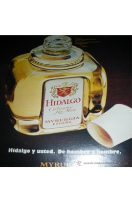HIDALGO EDC  400 ML. RELLENABLE