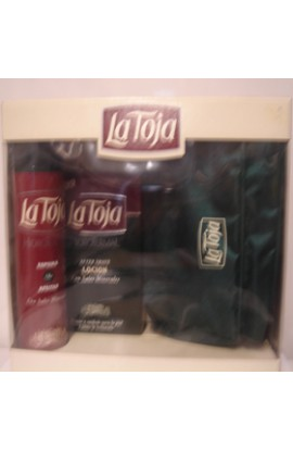 SET LA TOJA  AFTHER SHAVE 100 ML. Y ESPUMA 100 ml.