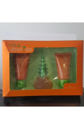 MUY ATREVIDA SET 75 ML. + BODY+GEL