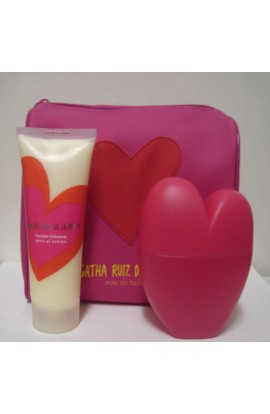 SET CORAZON EDT 100 ML. + EMULSION HIDRATANTE 100 ML.