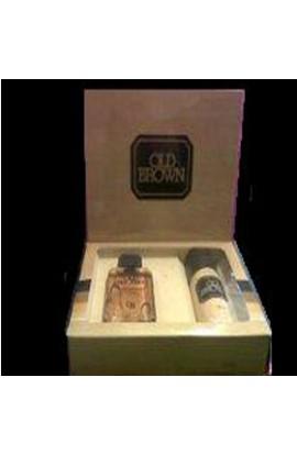 SET OLD BROWN  EDT 110 ml.+ DESODORANTE 127 ML.