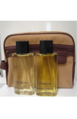 NECESER PATRICHS  EDT 125 ml. + AFTHER SHAVE  125 ML. BOTELLA AÑOS 80