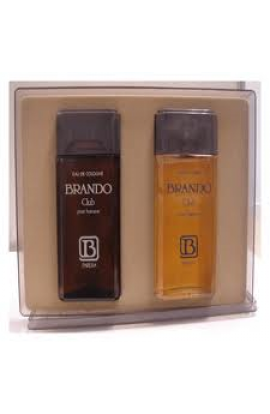SET BRANDO CLUB  EDT 100 ml.+AFTHER SHAVE  100 ML.