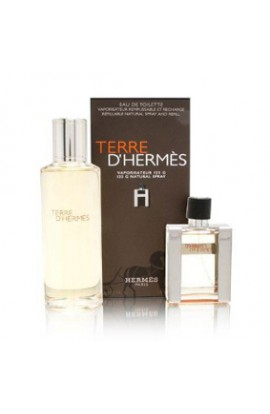 TERRA DE HERMES EDT 125 ml.RECARGABLE + EDT 30 ML.