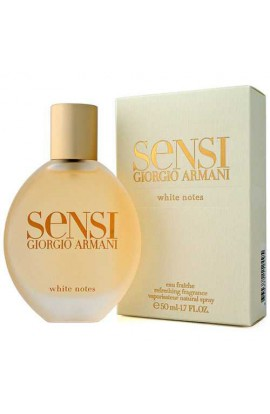 SENSI WHITE NOTES EAU FRAICHE EDT 75ML