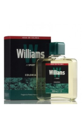 WILLIAMS SPORT EDT 150 ml. FORMATO METALICO