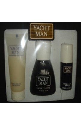 SET YACHTMAN EDT 100 ML.+ DESODORANTE 30 ML+AFTHER  EMULSION 100 ML.